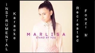 """Stand By You"" - Marlisa (Instrumental / Karaoke) + LYRICS [Fonzi M]"