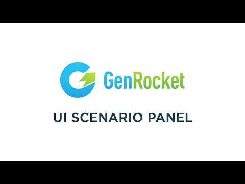 GenRocket - Test Data Management