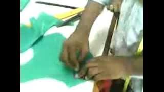 blouse cutting saree blouse