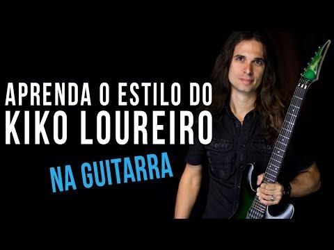 KIKO LOUREIRO - ESTILO DE GUITARRA