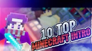 TOP 10 MINECRAFT INTRO ANIMATIONS 2016
