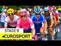 Tour de France 2019 | Stage 9 Highlights | Cycling | Eurosport