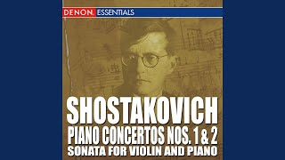 Concerto for Piano, Trumpet and Strings in C Minor, Op. 35: III. Moderato