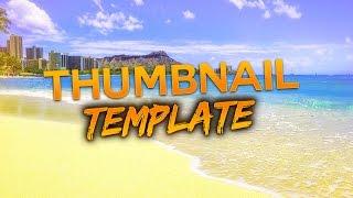 Free GFX: Chill Thumbnail Template - READ DESC