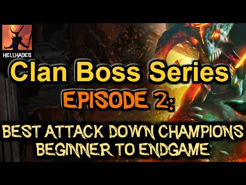 RAID: Shadow Legends | Clan Boss Series Episode 2: Best Decrease Attack Champions in the game