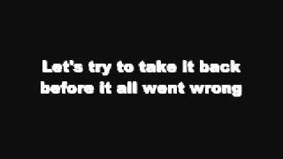Before The Worst - The Script [LYRICS]