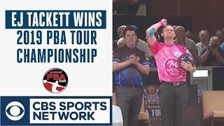 EJ Tackett edges Butturff in roll off to win 2019 PBA Tour Finals, Full Highlights | CBS Sports