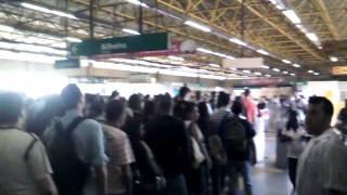 Extra Conectado:Ágata mostra como está a estação da pavuna do metrô
