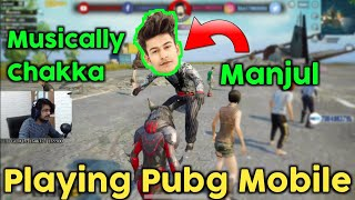 When Hydra Guru Meets Manjul Khattar In Pubg Mobile | Gaming Guru | Nono Live App