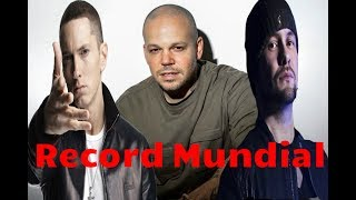 Residente Rompe El record De Eminem y Harry Shotta