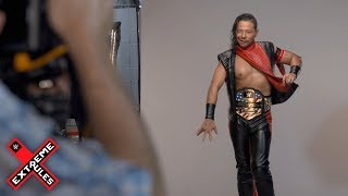 Behind the scenes of Shinsuke Nakamura's championship photo shoot: Exclusive, July 15, 2018