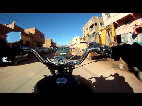 Chopperbyggarn & La Azteca in Morocco Des-Jan 2012-13 #15