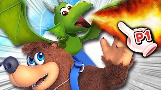 Banjo & Kazooie's Alternate Colors Predictions - Smash Ultimate – Aaronitmar