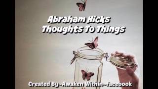 Abraham Hicks ~Request is already there now release vibration Butterflies