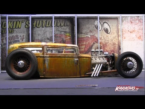 Thumbnail for Essen Motorshow 2012 Hot Rods bei KARACHO.tv - Motorkultur
