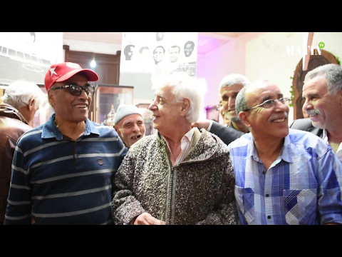 Exposition sur l'histoire du Maroc et du wydad