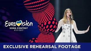 Blanche - City Lights (Belgium) EXCLUSIVE Rehearsal footage