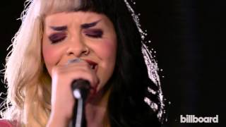 Melanie Martinez Performs 'Pity Party' Live in the Billboard Studio