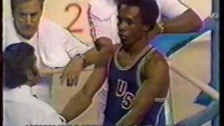 Sugar Ray Leonard 1976 Olympic Gold Medal Match Pt. 1