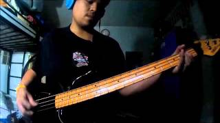 Incubus - Love Hurts (bass cover)