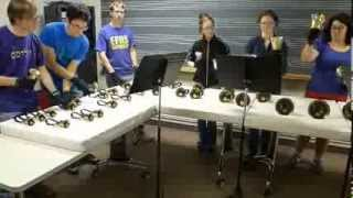 Midna's Lament (Zelda) played by Williams College Handbell Choir