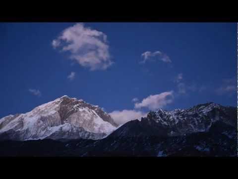 Time Lapse at Lobuche, Nepal