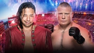 Shinsuke Nakamura vs Brock Lesnar Promo | WWE Dream Match
