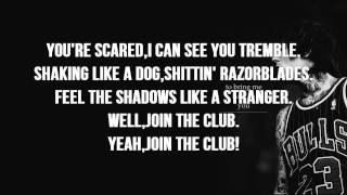 Bring Me The Horizon - Join The Club (Lyrics on SCREEN) - Sempiternal *Bonus Track