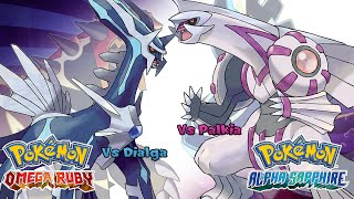 Pokemon Omega Ruby/Alpha Sapphire - Battle! Palkia/Dialga Music (HQ)