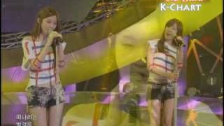 [K-Chart] 5. [▼1] Time, Please Stop - Davichi (2010.6.11 / Music Bank Live)