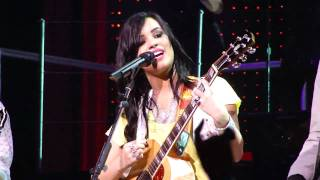 Two Worlds Collide- Demi Lovato 7/17/09