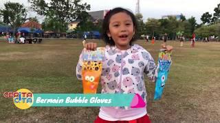 Cita Main Bubble Glove di Taman Kota Pasar Rakyat