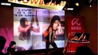 Leo Rojas live am 31.03.2012