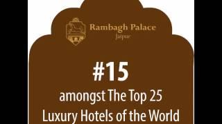TAJ Rambagh Palace - TripAdvisor Travellers' Choice Awards 2016