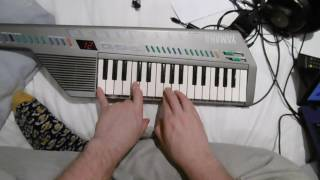 Macintosh Plus 420 but it's a bad keyboard cover.