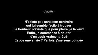 Angèle - Tout oublier feat. Roméo Elvis (Paroles)