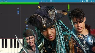 Descendants 2 - What's My Name - Piano Tutorial - China Anne McClain