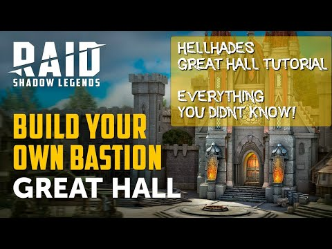RAID SHADOW LEGENDS | GREAT HALL EXPLAINED BEGINNER TO END GAME