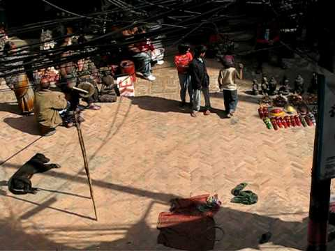 Performer in Kathmandu