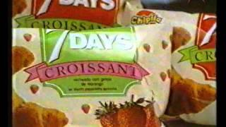 7Days Croissant Chipita - 1993