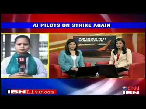 Air India pilots on strike, several flights hit