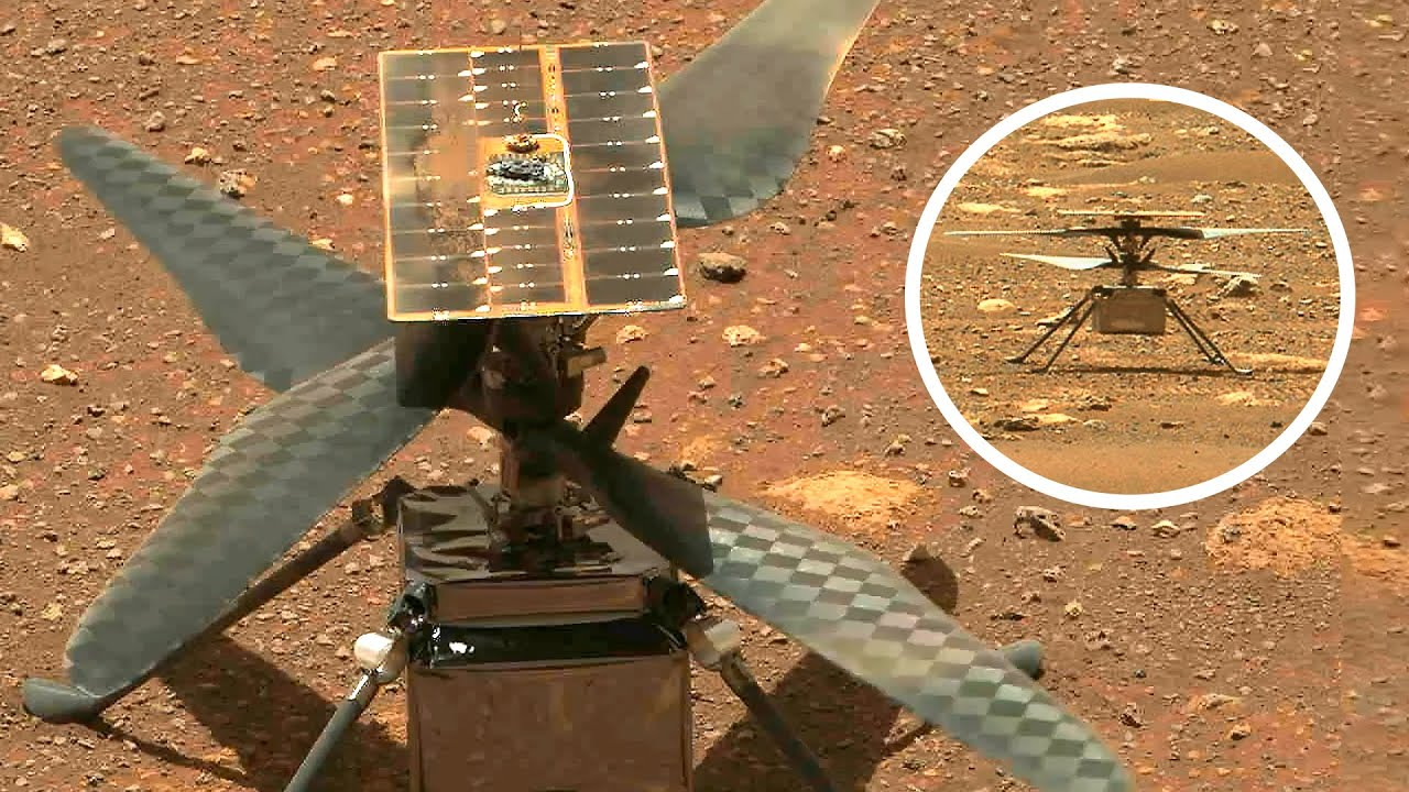 Ingenuity Mars Helicopter – Runs 2nd Rotor Blades Spin Test Applying Software Updates