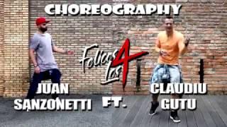 Maluma - Felices los 4 - Zumba choreo by Claudiu Gutu ft. Juan Sanzonetti