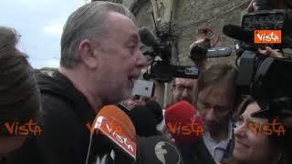 """Lele Mora alla Leopolda da Renzi: """"Sono mussoliniano, ma saluto un amico"""""""