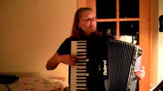 O SON DO AR by Bieito Romero, arranged and played by accordiona