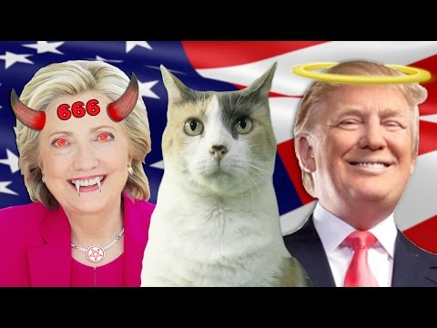HILLARY IS A DEMON FROM HELL & TRUMP IS THE MESSIAH!