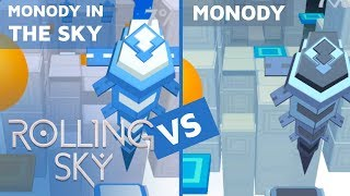 Rolling Sky - Monody in the Sky Vs Monody (ReSkinned Version) | SHAvibe