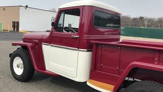 1961 Willys Pick Up Completely Restored !!! www.hollywoodmotorsusa.com