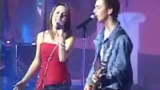 Sandy e Junior - olha o que o amor me faz (ao vivo)