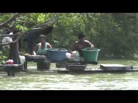 Nicaragua Ometepe wasvrouwen xvid